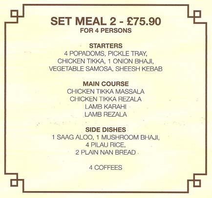 set meal 2